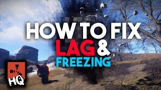 HOW TO FIX LAG AND FREEZING - [ Rust ]