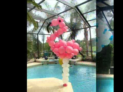 Celebrity event decor balloon decorations youtube for Balloon decoration ideas youtube