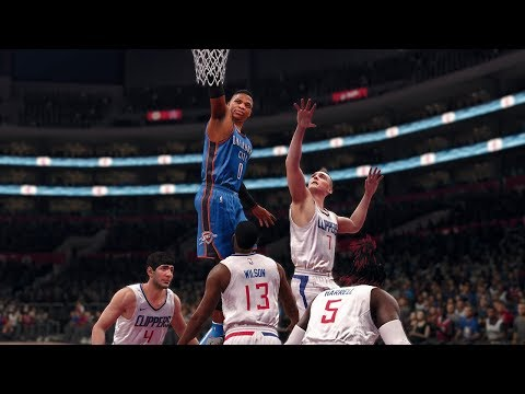 NBA OKC Thunder vs Los Angeles Clippers | NBA Jan 4 | Full Game Thunder vs Clippers NBA Live 18