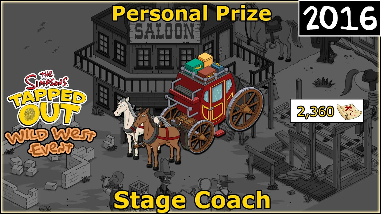 Download TSTO - Wild West Event  | Stage Coach | Personal Prize