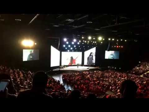 John Gray Grand West Cape Town end Hillsong Colour conference 30 April 2017