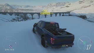 Forza Horizon 4 - Winter Season - Free Roam Gameplay in 2017 Ford F-150 Raptor