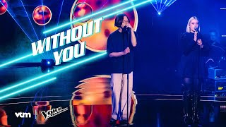Ibe & Charles - 'Without You' | Liveshow 2 | The Voice van Vlaanderen | VTM