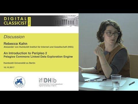Digital Classicist Seminar Berlin (2017/2018) - Seminar 1 Discussion