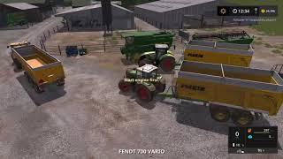 Farming simulator 17 Timelapse #18 | Oak Field |
