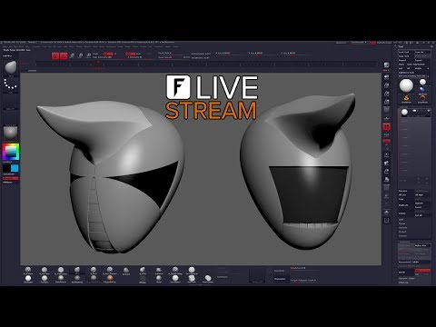Idea Generation - ZBrush Live Stream