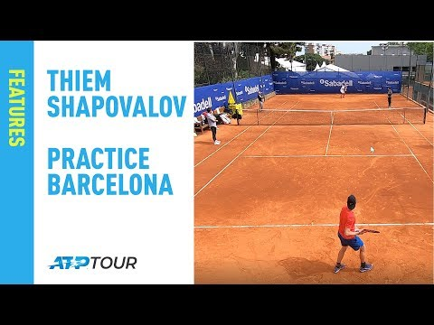 Thiem & Shapovalov | Behind The Baseline | Barcelona 2019