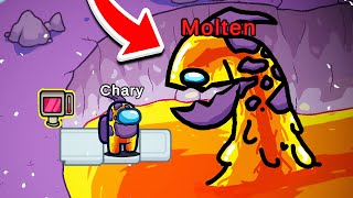 Don't Play as MOLTEN in Among Us, OR ELSE! 😨