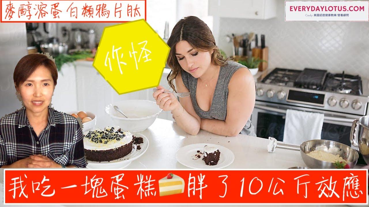 我吃一塊蛋糕🍰胖了10公斤效應【麥醇溶蛋白類鴉片肽】