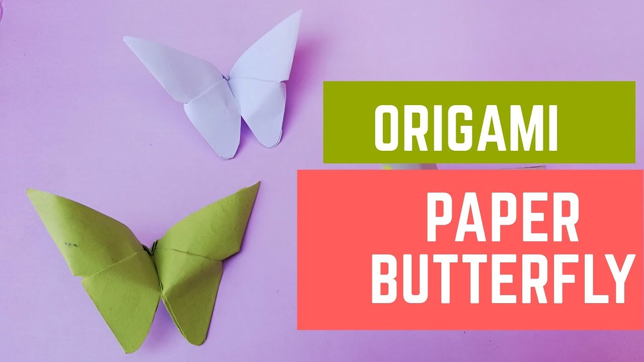 origami paper butterfly