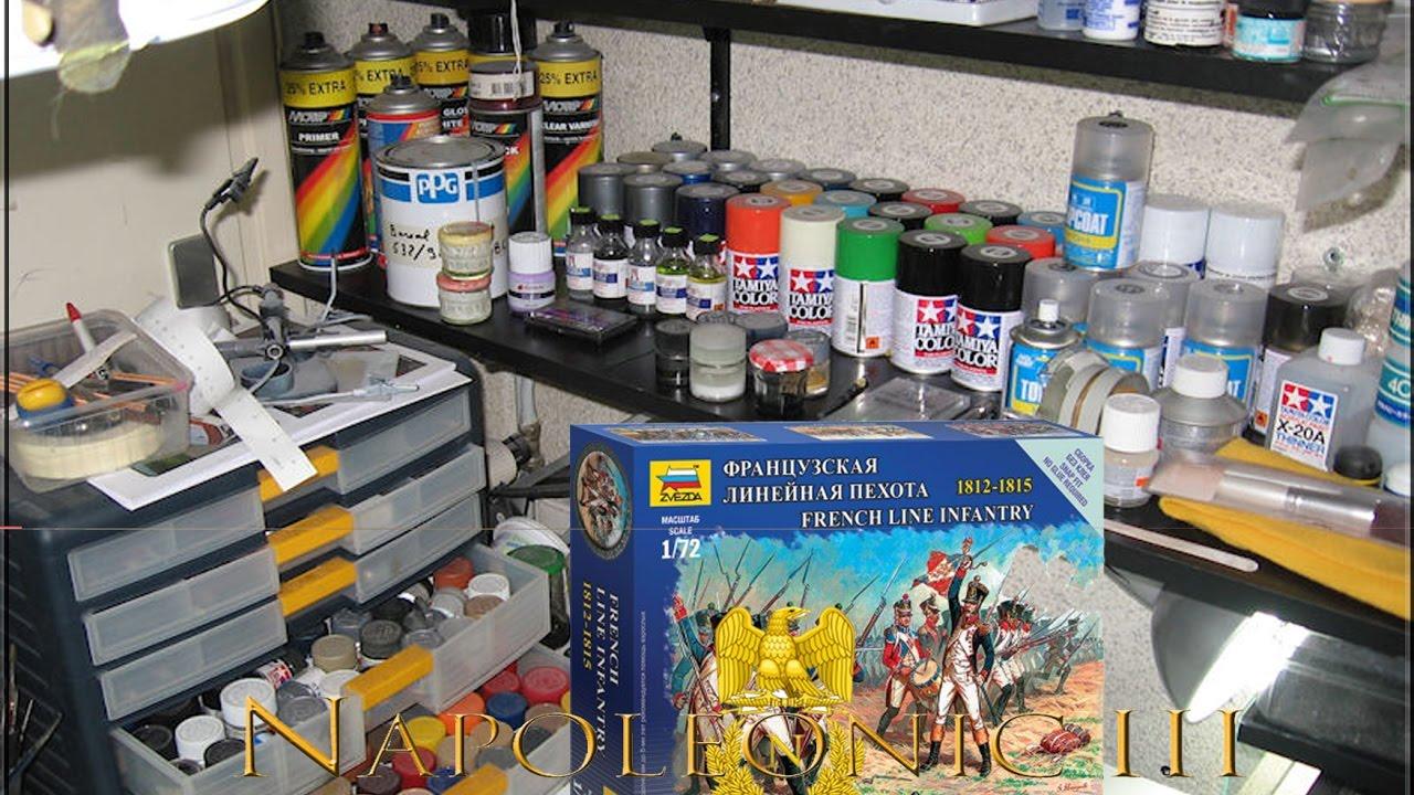 la peinture des figurines