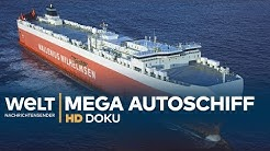 AUTOSCHIFF MS Tonsberg - Roll-on-Roll-off-Frachter auf See | HD Doku