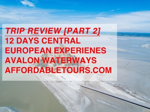 Review   Avalon River Cruise (Globus) - Rhine, Danube, Main - Central Europe   Part 1