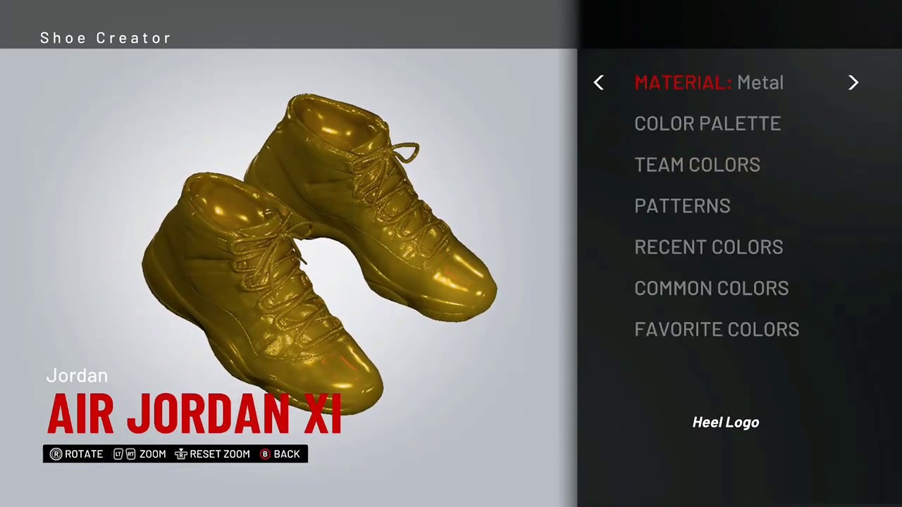 d262db95ceb How to make all GOLD shoes in NBA 2K19 tutorial! - YouTube