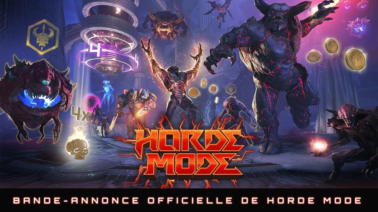 Download DOOM Eternal : Horde Mode – Mise à jour 6.66 disponible maintenant !