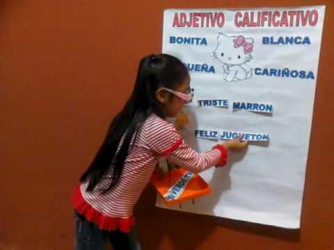 EXPOSICION  EL ADJETIVO CALIFICATIVO PARA PRIMARIA