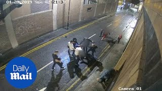 Shocking attack on family celebrating wedding in Manchester city