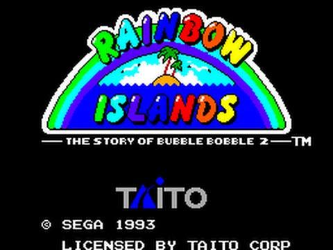 Master System Longplay [157] Rainbow Islands   The Story of Bubble Bobble 2