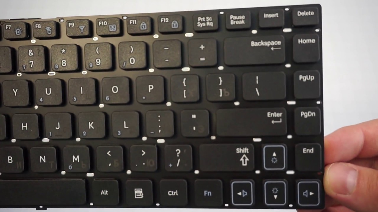 Арт.: TOP-100393. Клавиатура для ноутбука Samsung RC510, RC520 .