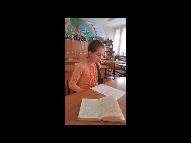 Изображение предпросмотра прочтения – ЕкатеринаГоляшова читает произведение «Бежин луг» И.С.Тургенева