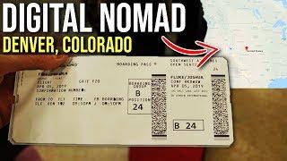Digital Nomad - 24 hours in Denver, CO #grindreel #vlog #digitalnomad #bucketlist
