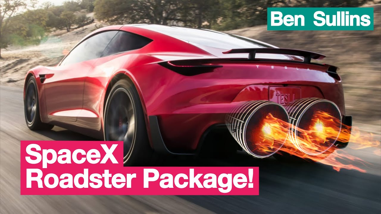 Explained | Tesla Roadster 2.0 SpaceX Option Package with ...