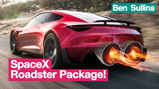 Explained | Tesla Roadster 2.0 SpaceX Option Package with Everyday Astronaut