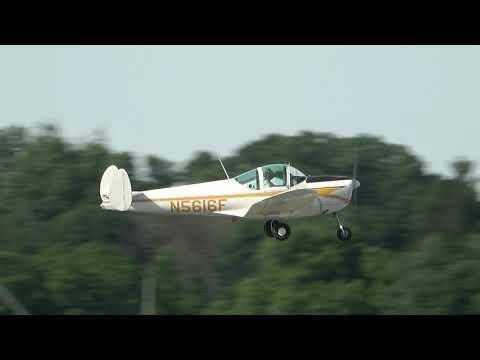 Alon A2 Aircoupe, N5616F Departing KRDG On 6/8/19