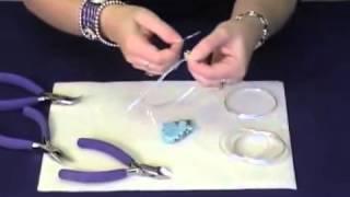 Как сделать основу для друзы (кулона) из проволоки. How to set a pendant with wire wrapping