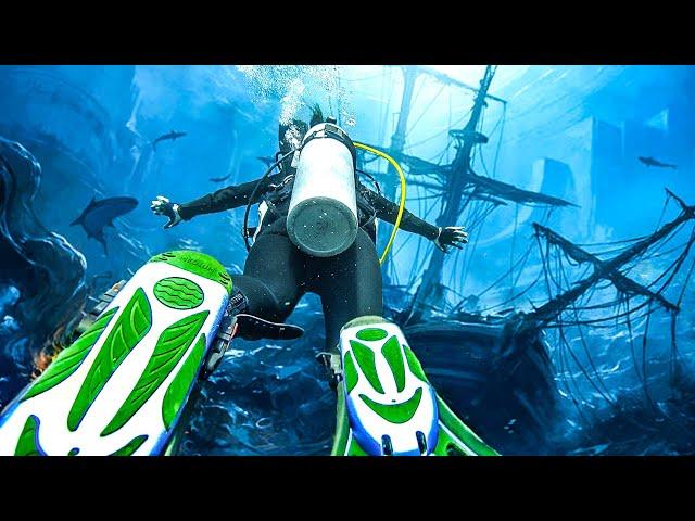 Дайвинг на Бали. Заплыли в затонувший корабль. Наше обучение дайвингу