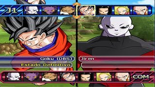 Dragon Ball Z Budokai Tenkaichi 3 - Goku Nueva Transformation Vs Jiren ,Caulifla SSJ ,Kale PS2 MOD