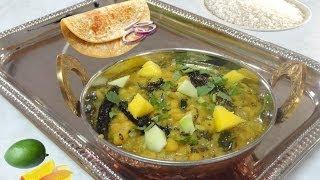 Mango Dal Tadka Video Recipe By Bhavna | Lentil Mango Curry
