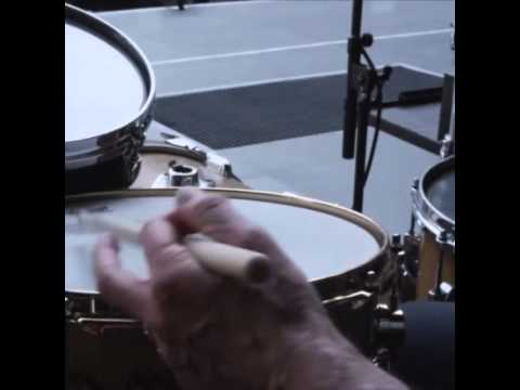 15 seconds of Charlie Watts un-miked