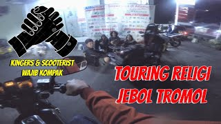 Bikers Rx King Menolong Scooterist Vespa, Inikah Brotherhood ?