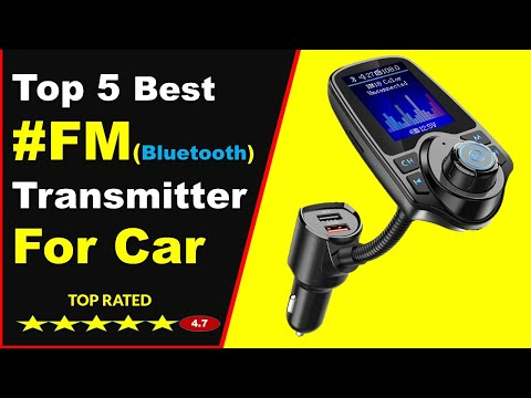 Top 5 Best Bluetooth FM Transmitter For Car In 2020