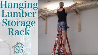 Hanging Lumber Storage Rack