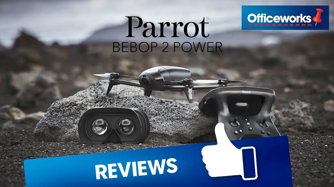 Parrot Bebop 2 Power FPV Drone Black | Officeworks