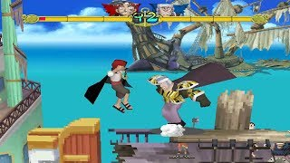 One Piece: Grand Battle! [PS1] - play as Shanks