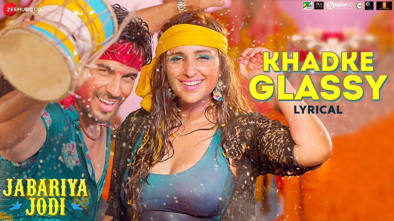 Khadke Glassy - Lyrical | Jabariya Jodi | Sidharth Malhotra & Parineeti Chopra | Yo Yo Honey Sin