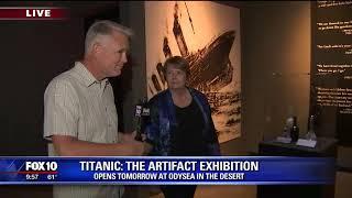 Cory's Corner: Titanic exhibition at OdySea in the Desert