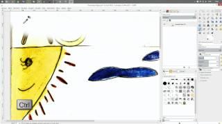 Como fazer uma capa - AULA 10 - PINTURAS E RETOQUE (GIMP)
