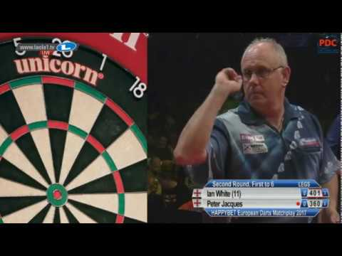 2017 European Darts Matchplay Round 2 White vs Jaques