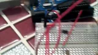 Моя первая сборка на arduino