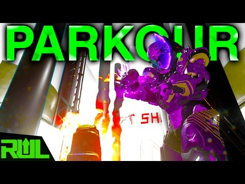 HALO 5 | MENTAL PARKOUR FORGE MAP (Halo 5 Guardians Xbox One)