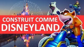 Crash Team Racing Nitro Fueled est-il construit comme Disneyland ?