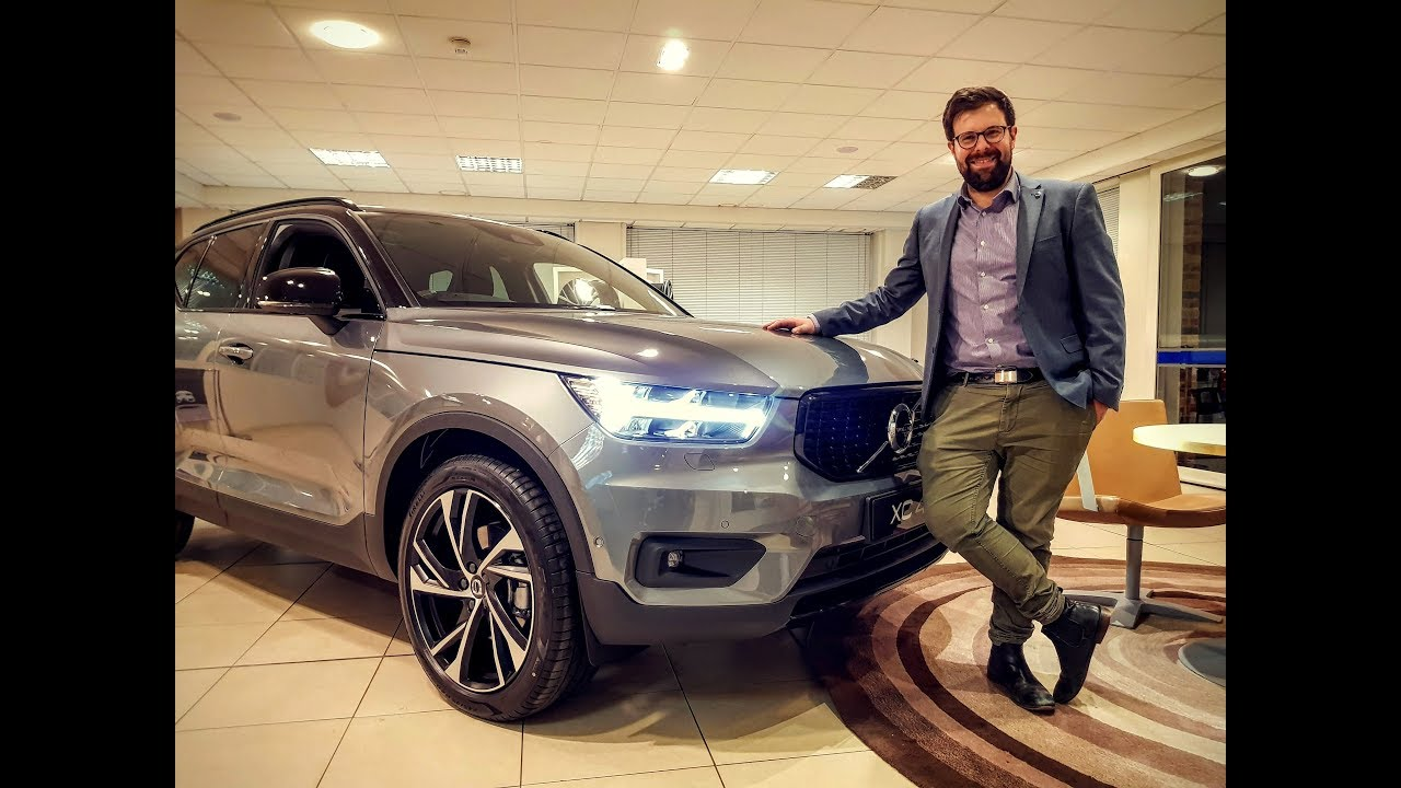 volvo xc40 first edition hands on and walkaround youtube. Black Bedroom Furniture Sets. Home Design Ideas