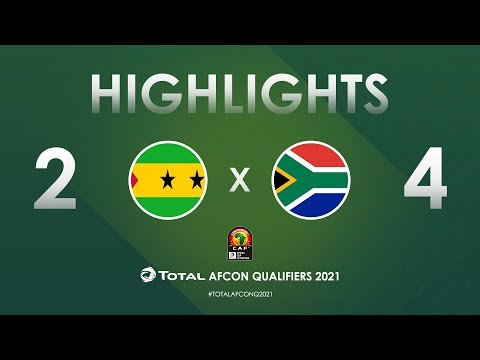 Sao Tome and Principe South Africa Goals And Highlights