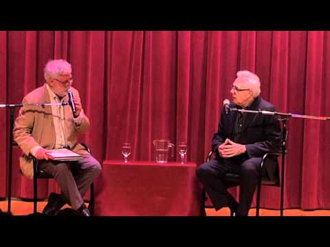 Larry Magid and David Dye at Free Library