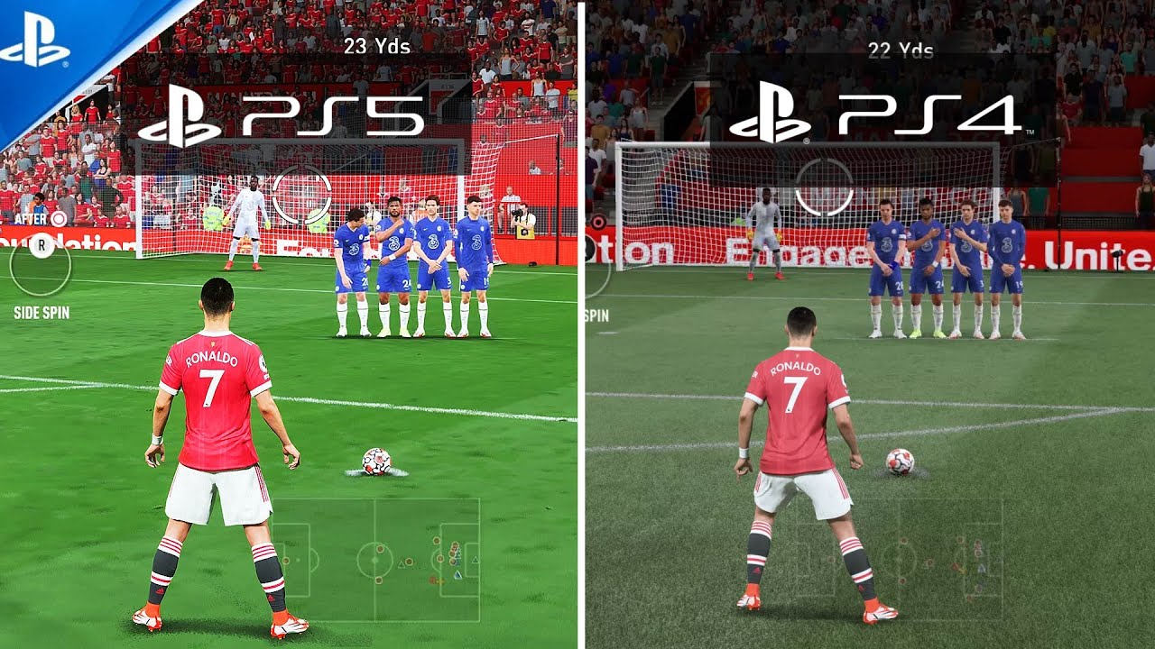 Download FIFA 22 | PS5 VS PS4 | Gameplay Comparison