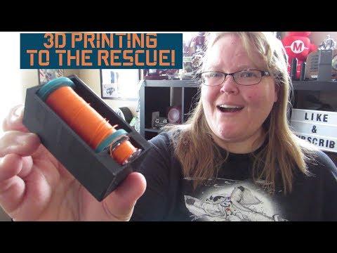 3D Printing Solutions I Fusion 360 I Thread and Bobbin storage